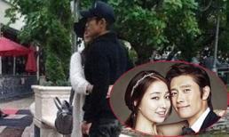 Lee Byung Hun tình tứ bên vợ sau scandal ngoại tình