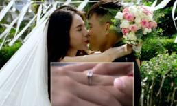 Hé lộ nhẫn cưới của Công Vinh - Thủy Tiên