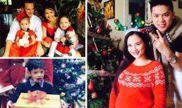 Sao Việt và các nhóc tỳ nô nức đón Giáng sinh