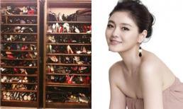 'Choáng ngợp' trước tủ đồ hàng hiệu của sao Hoa ngữ
