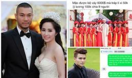 Doãn Tuấn, Quỳnh Nga 'cháy nhà mới ra mặt chuột' sau đám cưới tiền tỷ