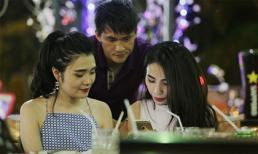 Công Vinh - Thủy Tiên đi ăn cùng bạn bè ngay sau đám cưới