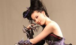 Lưu Diệc Phi béo, mặt phị trong loạt ảnh hậu trường