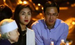 Vợ chồng Hà Tăng tới chia buồn với Dũng Khùng