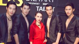 Yến Trang rực rỡ bên dàn mẫu Thái