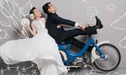 Sau kết hôn, Ngô Quỳnh Anh khoe ảnh cưới nghịch ngợm