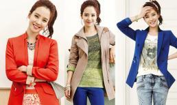 Phối hợp style mùa xuân đẹp như Song Ji Hyo