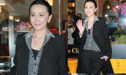 Lưu Gia Linh trẻ trung, phong cách ở ngưỡng gần 50
