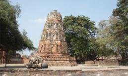 """Vẻ đẹp bí ấn của """"phế tích"""" Ayutthaya"""
