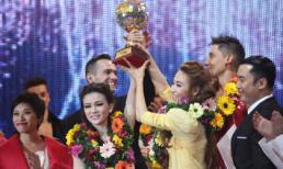 Ngân Khánh - Thu Thủy xuất sắc vô địch