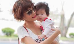 Dương Yến Ngọc rạng rỡ khoe con trai 5 tháng tuổi