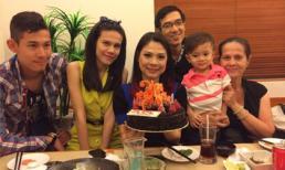 'Búp bê' Thanh Thảo đón sinh nhật ấm cúng bên người thân
