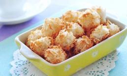Thơm bùi giòn rụm món bánh dừa
