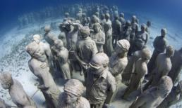 Bảo tàng dưới nước độc đáo ở Mexico