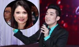 Thanh Thảo rạng rỡ sau tin đồn kết hôn đến chúc mừng Quang Hà