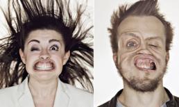 Những khuôn mặt 'méo mó vì gió'