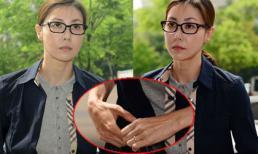 Á hậu Hàn bị tố bán dâm hốc hác, bơ phờ hầu tòa lần thứ tư