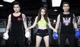 Băng Di làm trọng tài boxing gợi cảm bên The Men
