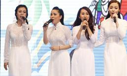 Nhóm Mây Trắng tái hợp xinh đẹp trong liveshow TVM