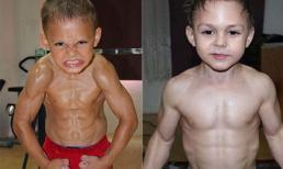 Chưa đầy 10 tuổi đã sở hữu cơ bụng 6 múi như người lớn