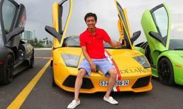 Bộ sưu tập siêu xe của các chàng rể showbiz Việt