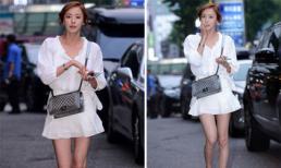'Phát hoảng' với đôi chân gân guốc của Lee Da Hee