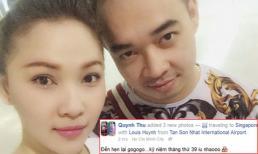 Quỳnh Thư và bạn trai đại gia đi du lịch kỷ niệm 39 tháng yêu nhau