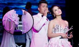 Nhật Kim Anh bị trai đẹp xé toạc bộ váy 15 triệu trên sân khấu