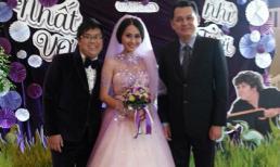 Đột nhập đám cưới ngập tràn sắc tím lãng mạn của Gia Bảo