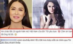 """""""Mỹ nhân gợi cảm nhất Philippines"""" bị 'bóc mẽ' vì dùng google dịch tiếng Việt"""
