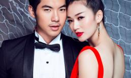 Khánh My kiêu sa khoe lưng trần với váy dạ hội cùng Trương Nam Thành