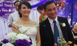 Em gái Công Vinh rạng rỡ bên chồng trong ngày cưới