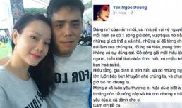 Dương Yến Ngọc bất ngờ gửi lời ngọt ngào tới ông xã dịp đầu năm