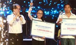 Phương Mỹ Chi chiến thắng vô đối, ẵm 1 tỷ đồng trong Bài hát yêu thích của năm 2014