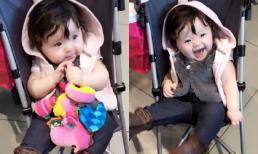 Cadie hào hứng đi mua sắm cùng mẹ Elly