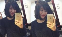 Văn Mai Hương trẻ trung hơn với kiểu tóc mới