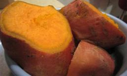 Chữa loét dạ dày hiệu quả với khoai lang