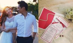 Lộ thiệp cưới sang trọng của Trúc Diễm và bạn trai Việt kiều