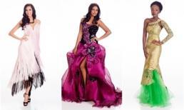 10 mẫu váy dạ hội khó hiểu nhất Hoa hậu Hoàn vũ 2014