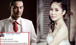 Quách Ngọc Ngoan chọn cách 'phớt lờ' vợ cũ giữa 'bão scandal'