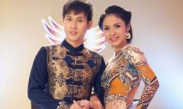 Việt Trinh diện áo dài làm giám khảo 'Vua tóc Việt Nam'