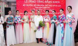 Võ Việt Chung vinh dự được nhận bằng khen của Bộ trưởng Bộ VHTTDL