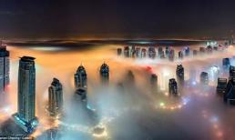 Ngắm mây trời tuyệt đẹp trên đỉnh những tòa nhà cao nhất thế giới