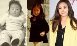 Tiết lộ loạt ảnh thời thơ ấu dễ thương của Choi Ji Woo