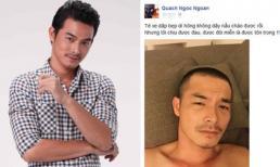 Quách Ngọc Ngoan bất ngờ bị ngã xe giữa 'tâm bão' scandal
