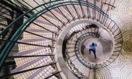 Những cầu thang xoắn ốc với kiến trúc độc đáo