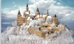 Chiêm ngưỡng những lâu đài phủ tuyết tuyệt đẹp ở châu Âu