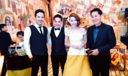 Đạo diễn Lê Minh lịch lãm dự đám cưới Ngân Khánh