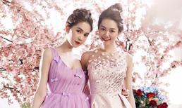 Xao xuyến trước vẻ đẹp ngọt ngào của Ngọc Trinh, Linh Chi