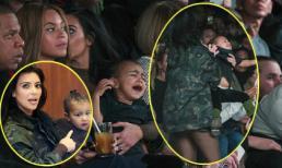 Con gái Kim khóc lóc náo loạn chương trình thời trang của bố